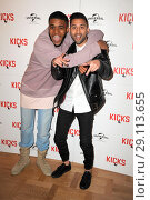 Купить «'Kicks' Special screening at the Curzon Aldgate Featuring: Christopher Jordan Wallace, Justin Tipping Where: London, United Kingdom When: 16 May 2017 Credit: WENN.com», фото № 29113655, снято 16 мая 2017 г. (c) age Fotostock / Фотобанк Лори