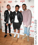Купить «'Kicks' Special screening at the Curzon Aldgate Featuring: Christopher Jordan Wallace, Justin Tipping, Elijah Quashie Where: London, United Kingdom When: 16 May 2017 Credit: WENN.com», фото № 29113659, снято 16 мая 2017 г. (c) age Fotostock / Фотобанк Лори