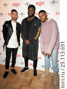 Купить «'Kicks' Special screening at the Curzon Aldgate Featuring: Christopher Jordan Wallace, Justin Tipping, Cadet Where: London, United Kingdom When: 16 May 2017 Credit: WENN.com», фото № 29113691, снято 16 мая 2017 г. (c) age Fotostock / Фотобанк Лори