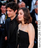 Купить «70th Cannes Film Festival - Gala Opening - 'Ismael's Ghosts' red carpet Featuring: Louis Garrel, Marion Cotillard Where: Cannes, France When: 17 May 2017 Credit: WENN.com», фото № 29115927, снято 17 мая 2017 г. (c) age Fotostock / Фотобанк Лори