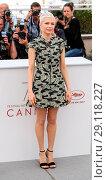 Купить «70th annual Cannes Film Festival - 'Wonderstruck' - Photocall Featuring: Michelle Williams Where: Cannes, United Kingdom When: 18 May 2017 Credit: John Rainford/WENN.com», фото № 29118227, снято 18 мая 2017 г. (c) age Fotostock / Фотобанк Лори