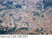 The air view of Almada. Portugal (2016 год). Стоковое фото, фотограф Serg Zastavkin / Фотобанк Лори