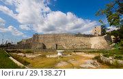 Купить «Fortress in Drobeta Turnu-Severin», фото № 29138271, снято 24 сентября 2017 г. (c) Яков Филимонов / Фотобанк Лори
