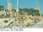Купить «Old Port of Cannes», фото № 29138283, снято 3 декабря 2017 г. (c) Яков Филимонов / Фотобанк Лори