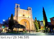 Купить «Church of San Gines in Guadalajara city, Spain.», фото № 29146595, снято 29 марта 2018 г. (c) age Fotostock / Фотобанк Лори