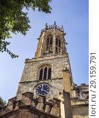 Купить «Bell tower at All Saints Pavement church in York Yorkshire England.», фото № 29159791, снято 29 августа 2018 г. (c) age Fotostock / Фотобанк Лори