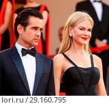 Купить «70th annual Cannes Film Festival - 'The Killing of a Sacred Deer' - Premiere Featuring: Nicole Kidman, Colin Farrell Where: Cannes, France When: 22 May 2017 Credit: John Rainford/WENN.com», фото № 29160795, снято 22 мая 2017 г. (c) age Fotostock / Фотобанк Лори
