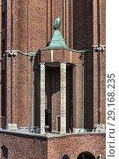 Ullsteinhaus, Ullstein Verlag building (1927), Tempelhof, Berlin, Germany. Стоковое фото, фотограф Ivan Vdovin / age Fotostock / Фотобанк Лори