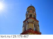 Купить «fragment of belfry in Novy Afonsky for men Monastery in Abkhazia», фото № 29179467, снято 3 июня 2018 г. (c) Володина Ольга / Фотобанк Лори