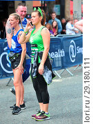 Купить «Runner are seen finishing the great Manchester run, despite the heightened security the race passed successfully. Featuring: Kym Marsh Where: Manchester...», фото № 29180111, снято 28 мая 2017 г. (c) age Fotostock / Фотобанк Лори