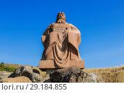 Купить «Памятник Месропу Маштоцу, создателю армянского алфавита в 405 году. Армения», фото № 29184855, снято 21 сентября 2018 г. (c) Наталья Волкова / Фотобанк Лори