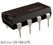 Купить «Integrated circuit or 8 pin micro chip and new information technologies.», иллюстрация № 29186675 (c) Gennadiy Poznyakov / Фотобанк Лори