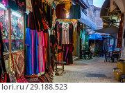 View of market, Old city, Jerusalem, Israel (2017 год). Стоковое фото, фотограф Keith Levit / Ingram Publishing / Фотобанк Лори
