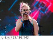 Купить «MIDEM international B2B music event - Performances Featuring: Be Charlotte Where: Cannes, France When: 06 Jun 2017 Credit: Marta Szczesniak/WENN.com», фото № 29198143, снято 6 июня 2017 г. (c) age Fotostock / Фотобанк Лори