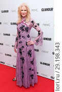 Купить «The Glamour Women of The Year Awards at Berkeley Square in London - Arrivals Featuring: Nicole Kidman Where: London, United Kingdom When: 06 Jun 2017 Credit: WENN.com», фото № 29198343, снято 6 июня 2017 г. (c) age Fotostock / Фотобанк Лори