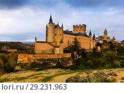 Купить «Segovia with Alcazar and Cathedral», фото № 29231963, снято 16 ноября 2014 г. (c) Яков Филимонов / Фотобанк Лори