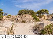 Купить «Делимара, Мальта. Руины британской артиллерийской батареи св. Павла», фото № 29233431, снято 18 сентября 2016 г. (c) Rokhin Valery / Фотобанк Лори