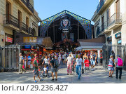 Купить «Рынок Бокерия, La Rambla, Барселона, Испания», фото № 29236427, снято 13 сентября 2018 г. (c) Ольга Коцюба / Фотобанк Лори