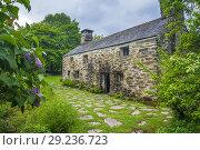 Купить «Ty Mawr Wybrnant, Penmachno, Conwy, Wales, United Kingdom, Europe.», фото № 29236723, снято 27 мая 2018 г. (c) age Fotostock / Фотобанк Лори