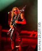 Купить «Judas Priest performing at Altice Arena Featuring: Richie Faulkner Where: Lisbon, Lisbon, Portugal When: 02 Jul 2018 Credit: Rui M Leal/WENN.com», фото № 29237135, снято 2 июля 2018 г. (c) age Fotostock / Фотобанк Лори