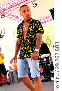 Купить «Bow Wow Performs Live At Flamingo Las Vegas' Go Pool Dayclub Saturday, June 23 Featuring: Bow Wow Where: Las Vegas, Nevada, United States When: 24 Jun 2018 Credit: Judy Eddy/WENN.com», фото № 29262883, снято 24 июня 2018 г. (c) age Fotostock / Фотобанк Лори