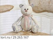 Мягкая игрушка Медведь. Редакционное фото, фотограф Целоусов Дмитрий Геннадьевич / Фотобанк Лори
