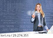 Купить «Advanced user of high modern technology», фото № 29274351, снято 14 ноября 2018 г. (c) Яков Филимонов / Фотобанк Лори