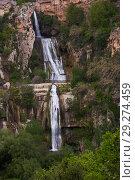 Купить «Sant Miquel del Fai with waterfall, Barcelona, Spain», фото № 29274459, снято 5 мая 2018 г. (c) Яков Филимонов / Фотобанк Лори