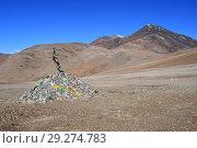 Купить «Пейзажи Тибетского нагорья летом», фото № 29274783, снято 12 июня 2018 г. (c) Овчинникова Ирина / Фотобанк Лори