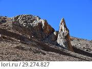 Купить «Пейзажи Тибетского нагорья в июне. Один из геоглифов», фото № 29274827, снято 12 июня 2018 г. (c) Овчинникова Ирина / Фотобанк Лори