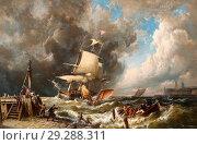 Купить «Dommersen Pieter Cornelis - the Storm.», фото № 29288311, снято 24 августа 2019 г. (c) age Fotostock / Фотобанк Лори