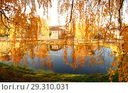 Золотая осень в Галиче (2018 год). Стоковое фото, фотограф Екатерина Разгуляева / Фотобанк Лори