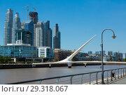 Купить «Region Puerto Madero in Buenos Aires», фото № 29318067, снято 27 января 2017 г. (c) Яков Филимонов / Фотобанк Лори
