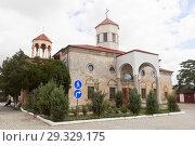 Купить «Армянская церковь Сурб-Никогайос в городе Евпатории, Крым», фото № 29329175, снято 1 июля 2018 г. (c) Николай Мухорин / Фотобанк Лори