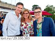 Maren Gilzer, Harry Kuhlmann, Rolf Scheider at Produzentenfest at... (2018 год). Редакционное фото, фотограф AEDT / WENN.com / age Fotostock / Фотобанк Лори