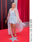 Купить «British Soap Awards 2018 Red Carpet Arrivals at Hackney Empire in London. Featuring: Lucy Fallon Where: London, United Kingdom When: 02 Jun 2018 Credit: WENN.com», фото № 29336999, снято 2 июня 2018 г. (c) age Fotostock / Фотобанк Лори
