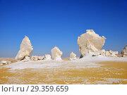 Купить «White desert Sahara Egypt», фото № 29359659, снято 27 декабря 2008 г. (c) Знаменский Олег / Фотобанк Лори