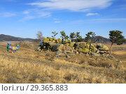 Купить «По диким степям Забайкалья», фото № 29365883, снято 2 октября 2018 г. (c) Валерий Митяшов / Фотобанк Лори
