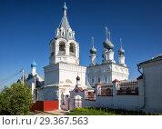 Купить «Муром. Воскресенский женский монастырь», фото № 29367563, снято 13 мая 2018 г. (c) Юлия Бабкина / Фотобанк Лори