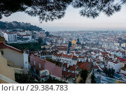Lisbon from above. Portugal (2018 год). Стоковое фото, фотограф Liseykina / Фотобанк Лори