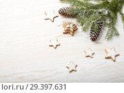 Купить «New Year and Christmas background», фото № 29397631, снято 4 ноября 2018 г. (c) Мельников Дмитрий / Фотобанк Лори