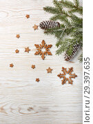 Купить «New Year and Christmas background», фото № 29397635, снято 4 ноября 2018 г. (c) Мельников Дмитрий / Фотобанк Лори