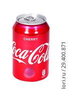 Coca-Cola Cherry (2018 год). Редакционное фото, фотограф Art Konovalov / Фотобанк Лори