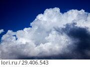 Купить «кучевые облака, Фон», фото № 29406543, снято 27 октября 2018 г. (c) Tamara Kulikova / Фотобанк Лори