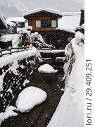 Купить «Shirakawa-go, Japan, Modern Residences», фото № 29409251, снято 28 декабря 2017 г. (c) Caro Photoagency / Фотобанк Лори
