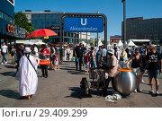 Купить «Berlin, Germany, Alexanderplatz in Berlin-Mitte », фото № 29409299, снято 7 июня 2018 г. (c) Caro Photoagency / Фотобанк Лори