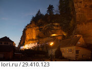 France, The rock houses of Graufthal in Alsace  (2014 год). Редакционное фото, агентство Caro Photoagency / Фотобанк Лори