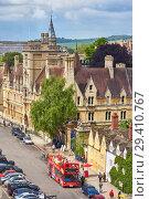 Купить «Balliol College on the Broad street. Oxford University. England.», фото № 29410767, снято 15 мая 2009 г. (c) Serg Zastavkin / Фотобанк Лори