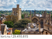 Купить «The New college chapel and bell tower. Oxford University. England.», фото № 29410815, снято 15 мая 2009 г. (c) Serg Zastavkin / Фотобанк Лори