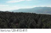 Купить «Trees and Mountains in Georgia Sandy sharp gorges in Mountains 4K epic Drone flight Caucasus hills and valley beauty Georgian nature», видеоролик № 29413411, снято 6 ноября 2018 г. (c) Aleksejs Bergmanis / Фотобанк Лори